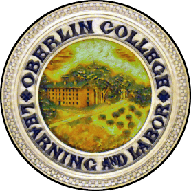 Oberlin College Seal displayed in Wilder Hall
